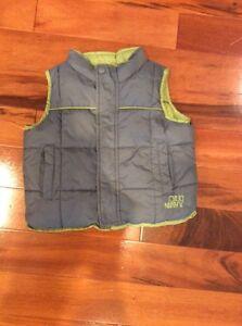 Size 12-18 months reversible vest
