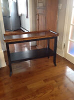 Beautiful Wicker Emporium Console Table