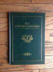 My Golf Record - great gift for a golfer