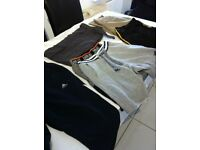 Bundle of mens shorts and trousers. XL