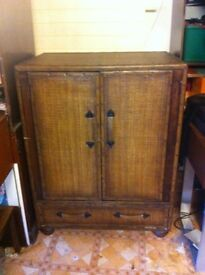 Large colonial style cabinet : Free Glasgow delivery