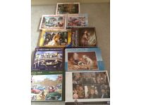 Collection of 1000 Piece Jigsaws