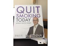 Quit Smoking today, Paul McKennaa