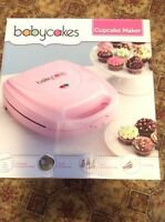 Baby cakes cupcake maker!