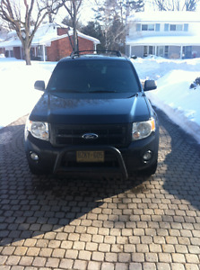 2012 Ford Escape SUV, Crossover MANUAL