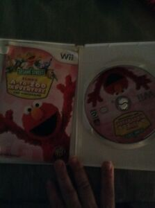 Elmo's A to Zoo Adventure Wii game Peterborough Peterborough Area image 2