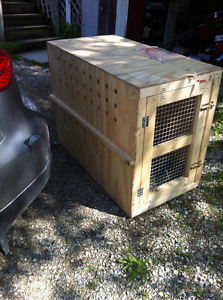 Air Canada Large Dog Shipping Crate