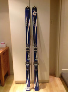 Adult Atomic Downhill Skis and Bindings - Size 160
