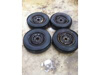 """Vw t25 14"""" wheels and tyres"""
