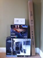 Projector, screen & home theater system for sale