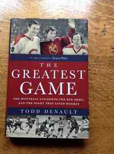 The Greatest Game by Todd Denault [Signed by Author]