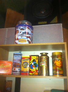 Tin can collection all 20 plus years old