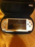 PSP Console and case no battery