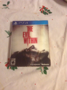 The evil within for the PS4