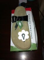 REAL Natura leather sandals women's size 9