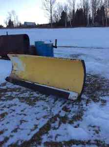 8 ft. Snow Blade heavy duty shop-built and counter weight