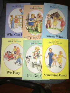 Dick and Jane easy readers for sale