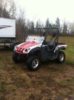 2008 Yamaha rhino with trailer