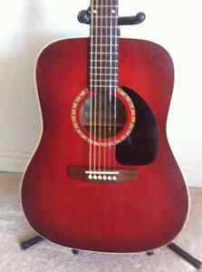 "Art Lutherie ""Wild Cherry "" Burgandy"