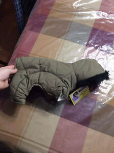 size small dog snowsuit