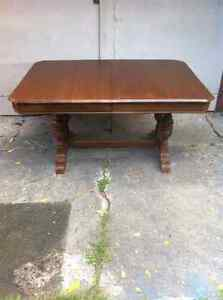 PRICE REDUCEDEarly 1900's antique walnut 9 piece dining room set London Ontario image 2
