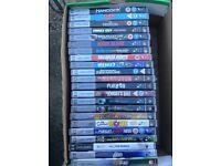 22 UMD videos for PSP