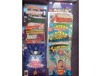 Marvel & DC comics £20