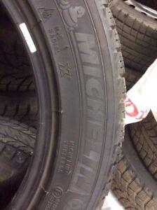 (4)Michelin Xice 215/55R17 hiver 8/32