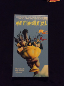 Monty Python & The Holy Grail VHS Tape
