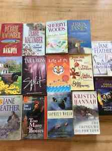 14 books for $10 need them gone!