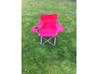 Kids camping chair - brand new