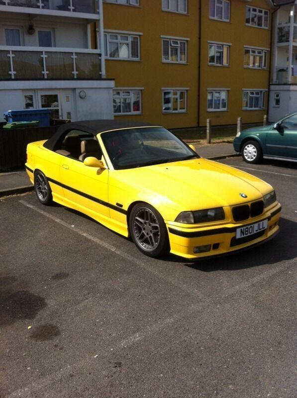 BMW E36 RARE YELLOW not audi VW merc E36 E46 1 Series | in ...