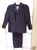 Boy's tuxedo fits size 4  to 6X or 7