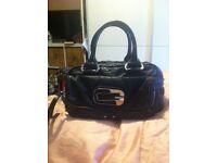 Genuine guess black handbag
