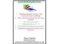 GCSE English Tuition