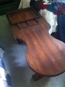 shoe makers coffee table
