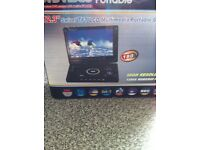 Camping TV/DVD video player