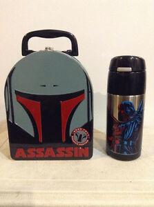 Star Wars. Boba Fett lunch box, rare find.