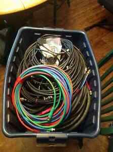 Video cables galore BNC and more, many lengths
