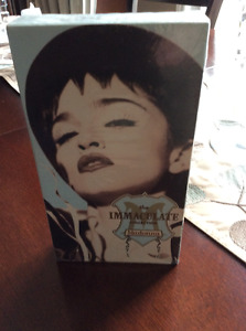 """Madonna VHS tape """"The Immaculate Collection""""  Mint !"""