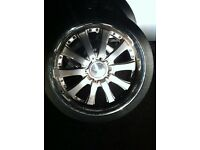 """20"""" 5x114.3 alloy wheels fit Kia freelander and others"""