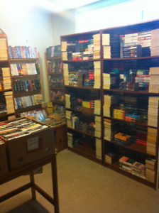 BOOKS-BOOKS-BOOKS - Thousands for sale - pocketbooks $1 each.
