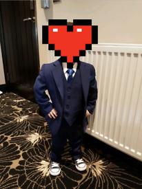 Age 2 navy suit