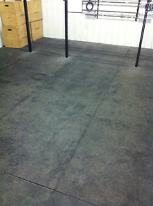 GYM CLOSURE: 4 X 6 FOOT FLOOR MATS -PERFECT FOR WORKOUTS
