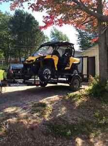 2015 Can-Am Commander 800cc with Trailer or without
