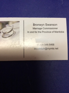 MARRIAGE COMMISSIONER