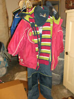 """GUSTI"" Girls Snowsuit and Accessories"