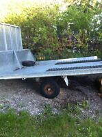 Double sled trailer