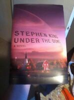Under The Dome - signed by stephen king