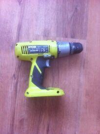 ryobi 18v + one drill